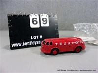ERTL 1994 TEXACO DIAMOND T COIN BANK - RED