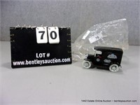 ERTL 1917 FORD MODEL T REPLICA COIN BANK, PHILLIPS