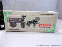 ERTL TEXACO HORSE & TANKER REPLICA COIN BANK