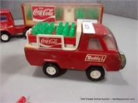 LOT: ASSORTED COLLECTOR BUDDY L COCA-COLA TOY TRUC