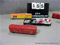 LOT (5): HO SCALE TOY TRAIN CARS, SPIRIT OF '76 EN