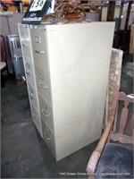 4-DRAWER METAL FILE CABINET - TAN