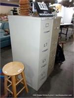 OFFICE IMAGE 4-DRAWER METAL FILE CABINET - TAN
