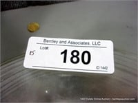 LOT (15): CLEAR NON-ETCHED PLAIN CAKE PLATES