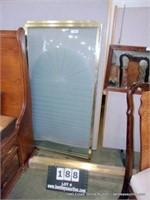 GOLDEN BRASS TONED SHOWER TUB COMBO SHOWER DOOR KI
