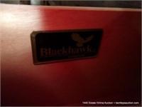 BLACKHAWK FURNITURE GOLDEN OAK QUEEN SIZE SLEIGH B