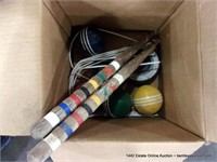 WELL WEATHERED FAMILY CROQUET SET