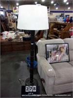 DESIGNER TALL SEGMENTED COLUMN FLOOR LAMP, LOOSE
