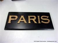 LOT (4): ASSORTED DECORATIVE PARIS STRUCTURES PICT