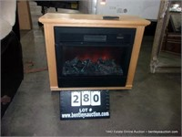 HEAT SURGE SMALL ROOM ELECTRIC HEATER / FIREPLACE