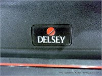 DELSEY RIGID LARGE SUITCASE - BLACK