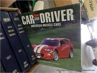 BOX: ASSORTED CALENDERS & AUTOMOTIVE REPAIR MANUAL