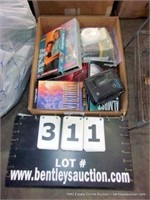 BOX: ASSORTED RELIGIOUS VHS MOVIES & SOAP