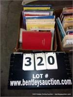 BOX: MIXED NOVELS & BOOKS