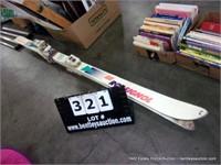 PAIR: ROSIGNOL STS 170S SNOW SKIS