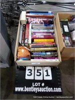BOX: ASSORTED BOOKS - RELIGIOUS, COOKING, KNOWLEDG