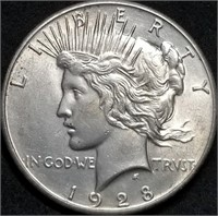 Thurs., April 29th 650 Lot Collector Coin & Silver Bullion