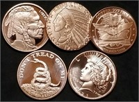Thurs., April 29th 650 Lot Collector Coin & Silver Bullion