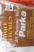 (2) High Trails Vinyl Parkas w/Hood size M
