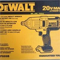DEWALT 20V MAX Cordless Impact Wrench, 1/2-Inch,