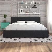 Kelly Upholstered Storage Platform Bed - King