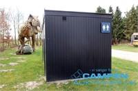 Toiletcontainer m/5 båse