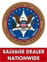 U.S. Marshals (Salvage Dealer Only) ending 5/10/2021