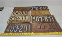 705 - License Plates and Car Parts Online Only
