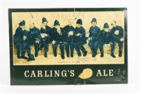 """CARLING'S ALE """"NINE PINTS OF THE LAW"""" SST SIGN"""