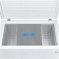 Midea Chest Freezer, 7.0 Cubic Feet, White