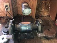 Black and Decker bench grinder