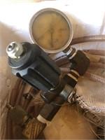 Brass hydraulic gauges