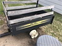 Metal yard cart
