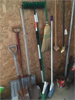 Brooms & shovels