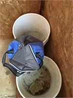 Fishing tackle bucket