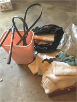 Shop rags and supplies