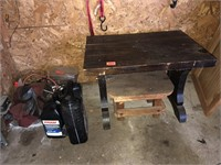 Table and plywood