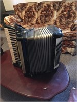 Accordion and case