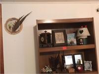 Two shelves full
