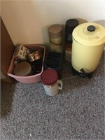 Coffee maker and thermos