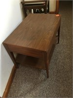 End table and microwave stand