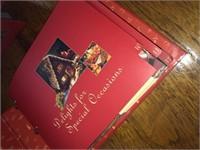 Complete set of Homemade Treats Cookbooks