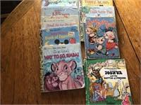 Golden Tell-A-Tale books