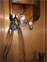 Wood wall hanging organizer