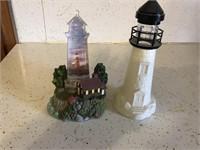 Pair of light houses