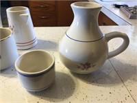 Drinking jar & coffee mugs