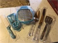 New kitchen utensils