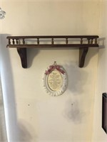 Shelf and wall hangings