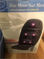 Seat massager and briefcase