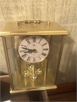 Clock and miniature Cedar chest